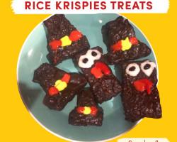 Thanksgiving-themed Rice Krispie treats
