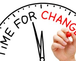 Time for a change clock